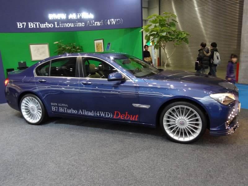 BMWアルピナ モデル別の試乗記・インプレッション