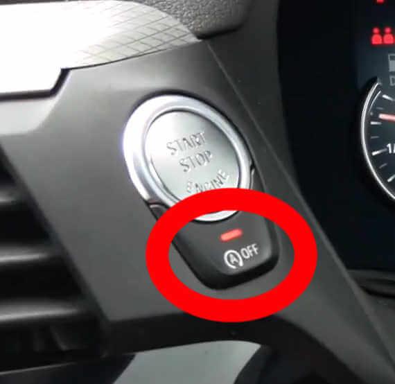 BMWのアイドリングストップを常時停止させる方法