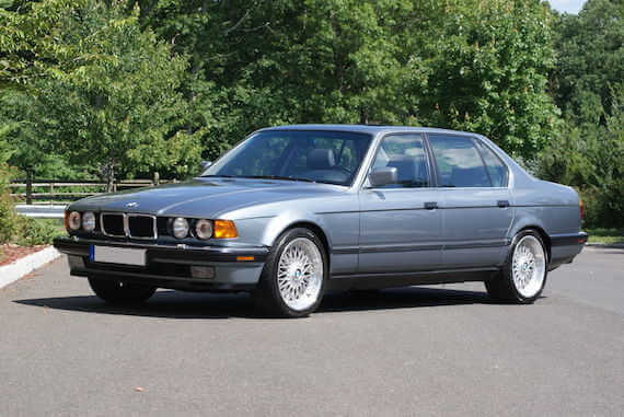 BMW E32情報(7シリーズ・カタログ)