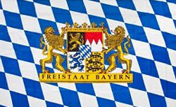 バイエルン州の州旗