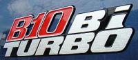 B10 Bi turboエンブレム