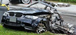 BMWの事故