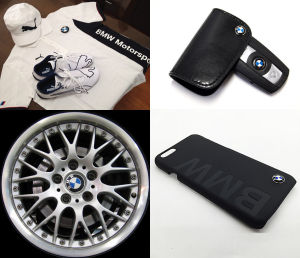 BMWのグッツや各種パーツ