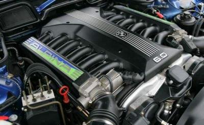 M73B54 V12エンジン
